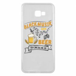 Чехол для Samsung J4 Plus 2018 Black music and bear you can call me sir
