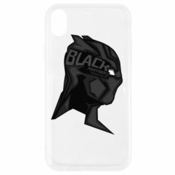 Чехол для iPhone XR Black Panter Art