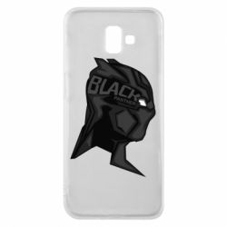 Чехол для Samsung J6 Plus 2018 Black Panter Art