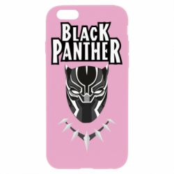 Чехол для iPhone 6/6S Black panter