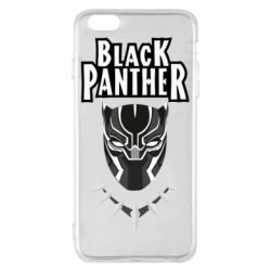 Чехол для iPhone 6 Plus/6S Plus Black panter