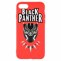Чехол для iPhone 7 Black panter