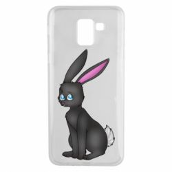 Чохол для Samsung J6 Black Rabbit