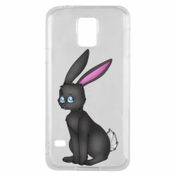 Чохол для Samsung S5 Black Rabbit