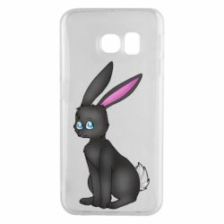 Чохол для Samsung S6 EDGE Black Rabbit