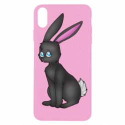 Чохол для iPhone Xs Max Black Rabbit