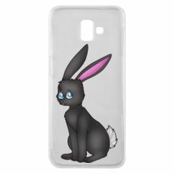 Чохол для Samsung J6 Plus 2018 Black Rabbit