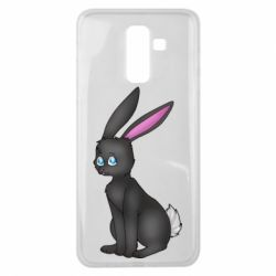 Чохол для Samsung J8 2018 Black Rabbit