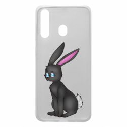 Чохол для Samsung A60 Black Rabbit