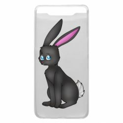 Чохол для Samsung A80 Black Rabbit