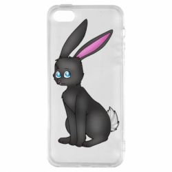 Чохол для iphone 5/5S/SE Black Rabbit