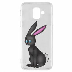 Чохол для Samsung A6 2018 Black Rabbit