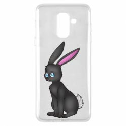Чохол для Samsung A6+ 2018 Black Rabbit