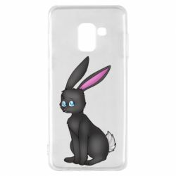 Чохол для Samsung A8 2018 Black Rabbit