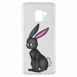 Чохол для Samsung A8+ 2018 Black Rabbit