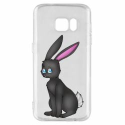 Чохол для Samsung S7 Black Rabbit
