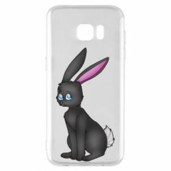 Чохол для Samsung S7 EDGE Black Rabbit