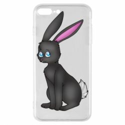 Чохол для iPhone 8 Plus Black Rabbit
