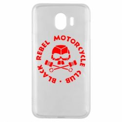 Чехол для Samsung J4 Black Rebel Motorcycle Club