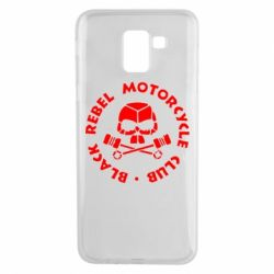Чехол для Samsung J6 Black Rebel Motorcycle Club