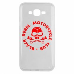 Чехол для Samsung J7 2015 Black Rebel Motorcycle Club