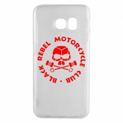 Чехол для Samsung S6 EDGE Black Rebel Motorcycle Club