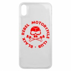 Чехол для iPhone Xs Max Black Rebel Motorcycle Club
