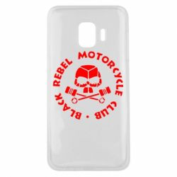 Чехол для Samsung J2 Core Black Rebel Motorcycle Club