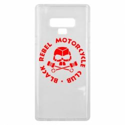 Чехол для Samsung Note 9 Black Rebel Motorcycle Club