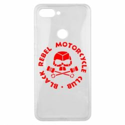 Чехол для Xiaomi Mi8 Lite Black Rebel Motorcycle Club