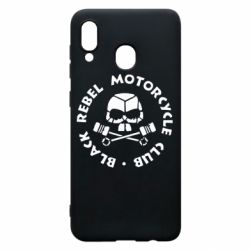 Чехол для Samsung A30 Black Rebel Motorcycle Club