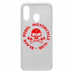 Чехол для Samsung A40 Black Rebel Motorcycle Club
