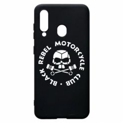 Чехол для Samsung A60 Black Rebel Motorcycle Club