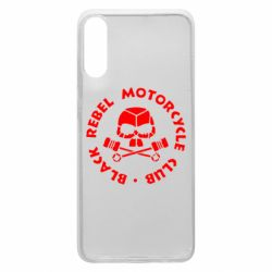 Чехол для Samsung A70 Black Rebel Motorcycle Club