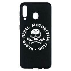 Чехол для Samsung M30 Black Rebel Motorcycle Club