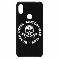Чехол для Xiaomi Redmi S2 Black Rebel Motorcycle Club