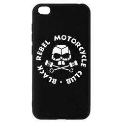 Чехол для Xiaomi Redmi Go Black Rebel Motorcycle Club