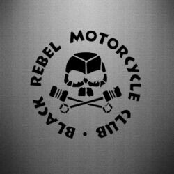 Наклейка Black Rebel Motorcycle Club - FatLine