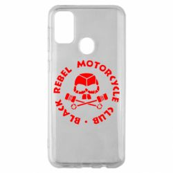 Чехол для Samsung M30s Black Rebel Motorcycle Club