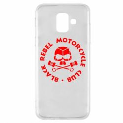 Чехол для Samsung A6 2018 Black Rebel Motorcycle Club