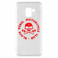 Чехол для Samsung A8 2018 Black Rebel Motorcycle Club