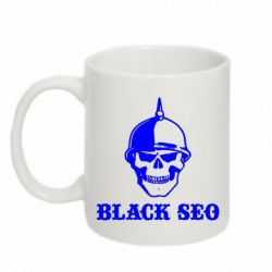 Кружка 320ml Black SEO - FatLine