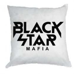 Подушка Black Star Mafia - FatLine