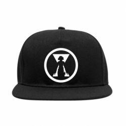 Снепбек Black Widow logo
