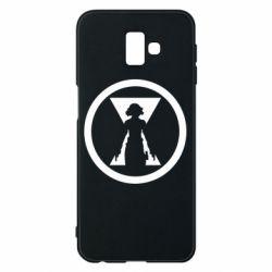 Чохол для Samsung J6 Plus 2018 Black Widow logo