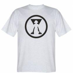 Чоловіча футболка Black Widow logo