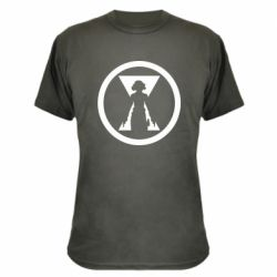Камуфляжна футболка Black Widow logo