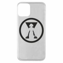 Чохол для iPhone 11 Black Widow logo