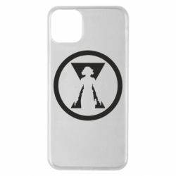 Чохол для iPhone 11 Pro Max Black Widow logo