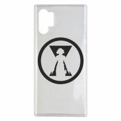 Чохол для Samsung Note 10 Plus Black Widow logo